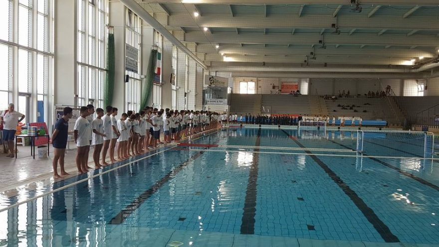 Squadra under 15 pallanuoto 2017