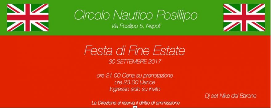 Festa Fine Estate Circolo Posillipo