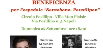 Concerto Lirico beneficenza Santobono-Pausillipon-Head