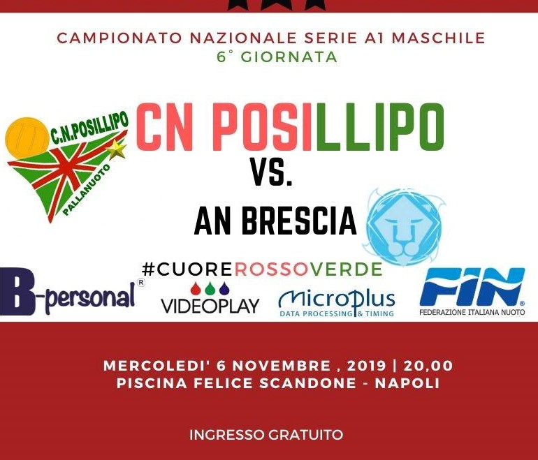 CN POSILLIPO - BRESCIA 2019-Head