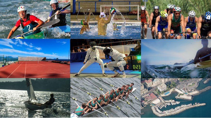 Collage Sezioni Sportive Circolo Nautico Posillipo