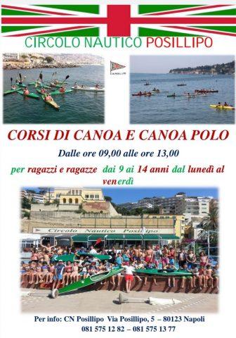 Corsi di Canoa 2020
