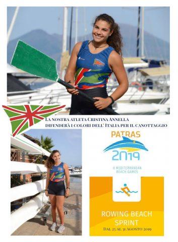 Cristina Annella Giochi del Mediterraneo 2019