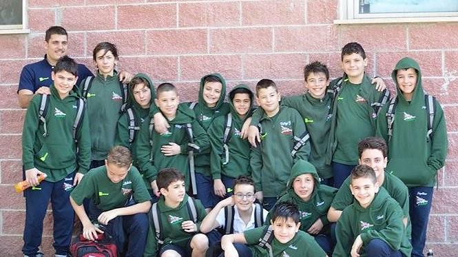 Squadra pllnuoto under 13