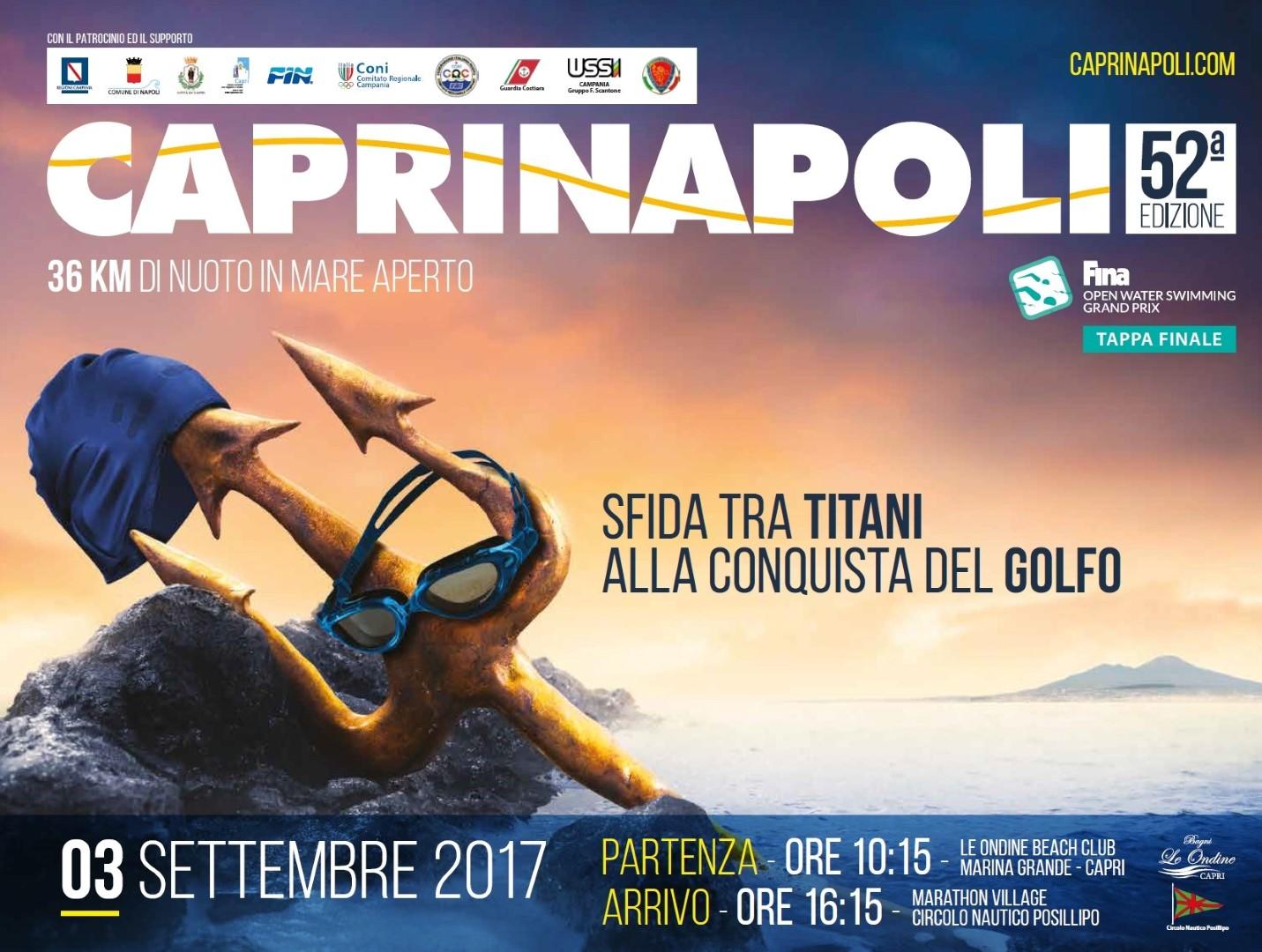 Locandina Capri Napoli