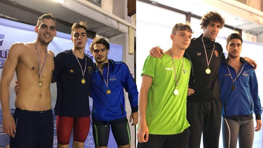 Luigi Crisci e Roberto Frigerio Posillipo Open Nuoto Giugliano 2017