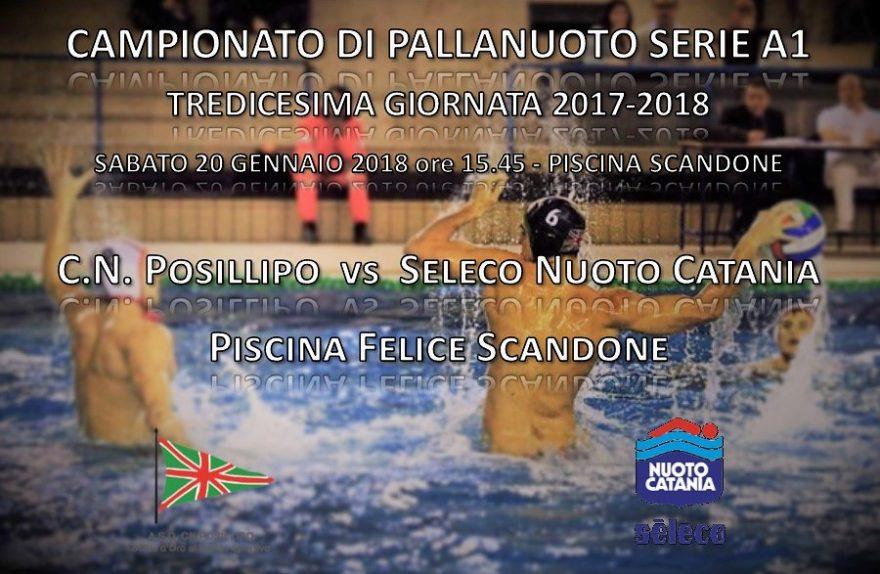 Locandina Posillipo - Seleco Catania