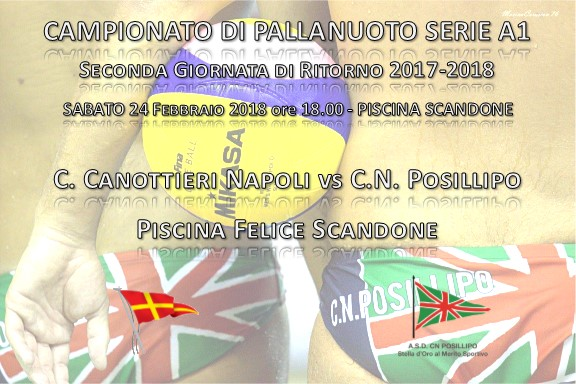 Locandina Pallanuoto Canottieri - Posillipo