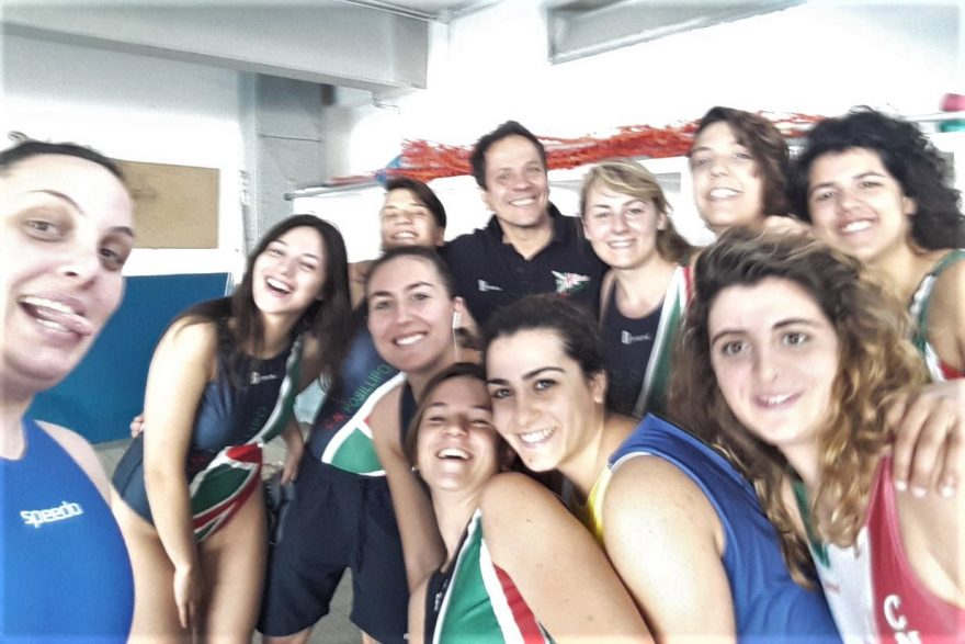 squadra pallanuoto B1 femminile