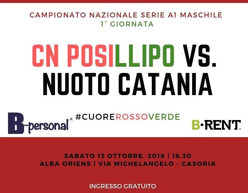 Posillipo vs Catania locandina