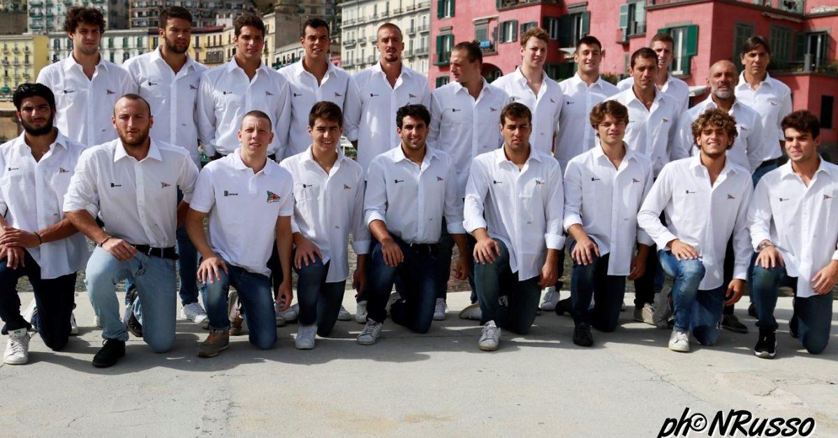 squadra pallanuoto A1 2018-2019