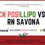 Posillipo vs Savona locandina