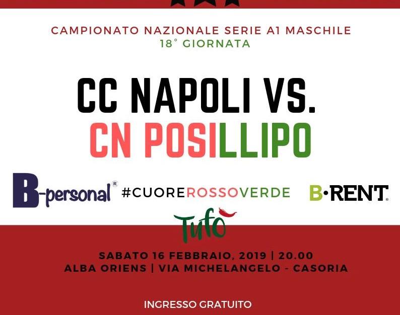 Canottieri vs Posillipo locandina