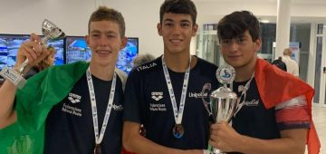 da sinistra: Lorenzo Carl Lindstrom - Matteo Florio La Rocca - Ernesto Serino