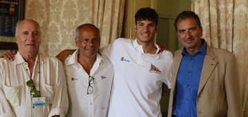 Conferenza Stampa Capri Napoli Salvatore Caruso-Rosario Castellano-Marco Magliocca-Antonio Ilario-