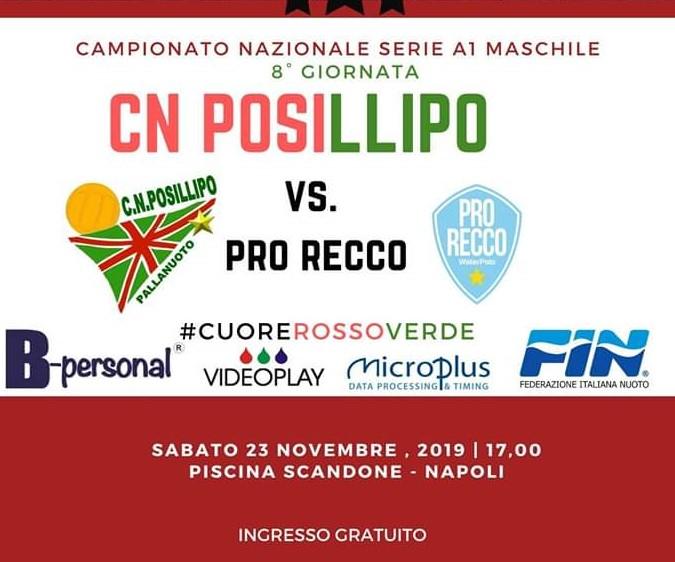 CN POSILLIPO - PRO RECCO 2019