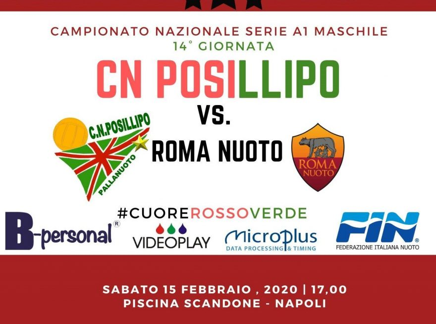 CN POSILLIPO - ROMA Nuoto 2020