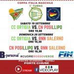 Coppa Italia Pallanuoto scandone 2020