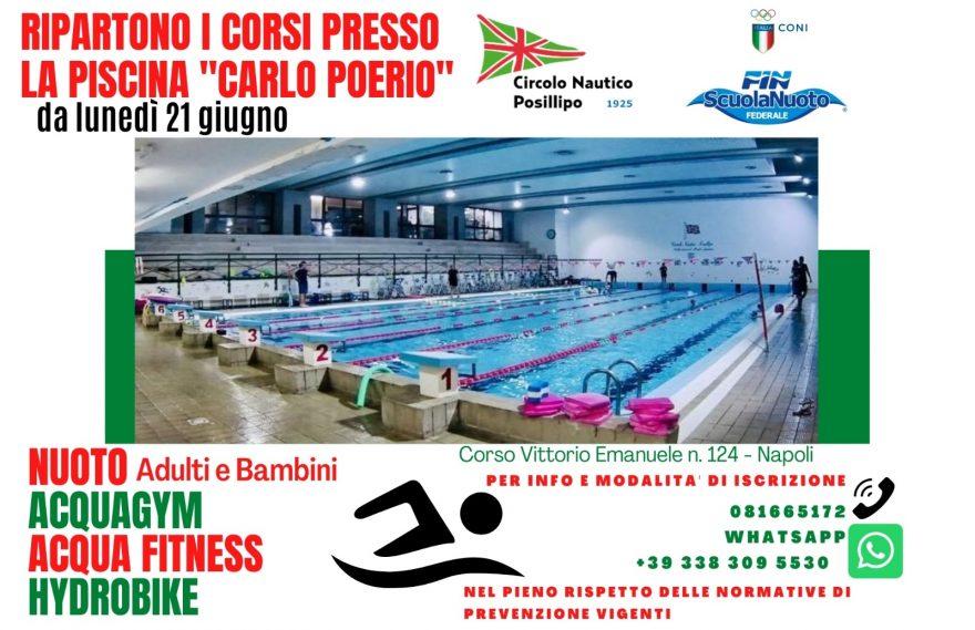 Corsi di Nuoto per Adulti e bambini 2021