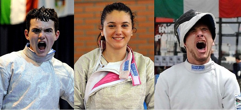Giorgio Marciano, Claudia Rotili, Christian Heim