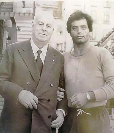 Maestro Domenico Conte e Titti Celentano