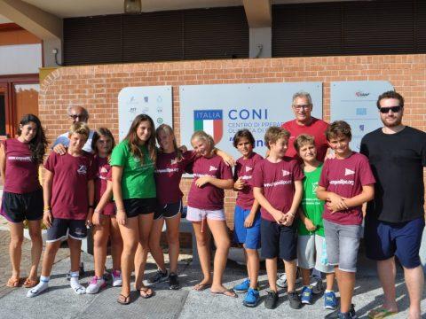 Gruppo u14 posillipo campus formia 2018