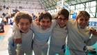 GpG Under 14 2020 Portici (Alfredo Rosa - Jacopo Tempesta - Alessandro e Francesco Del Vecchio)