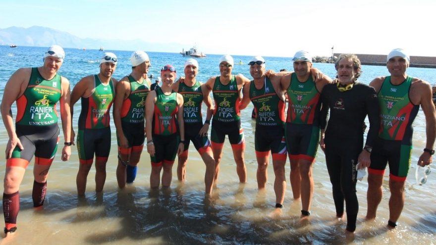 Squadra Triathlon del Circolo Nautico posillipo