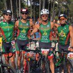 Fiore e gruppo Triathlon