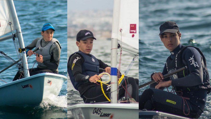 Giorgia Deuringer, Marlon Alem e Aldo Perillo