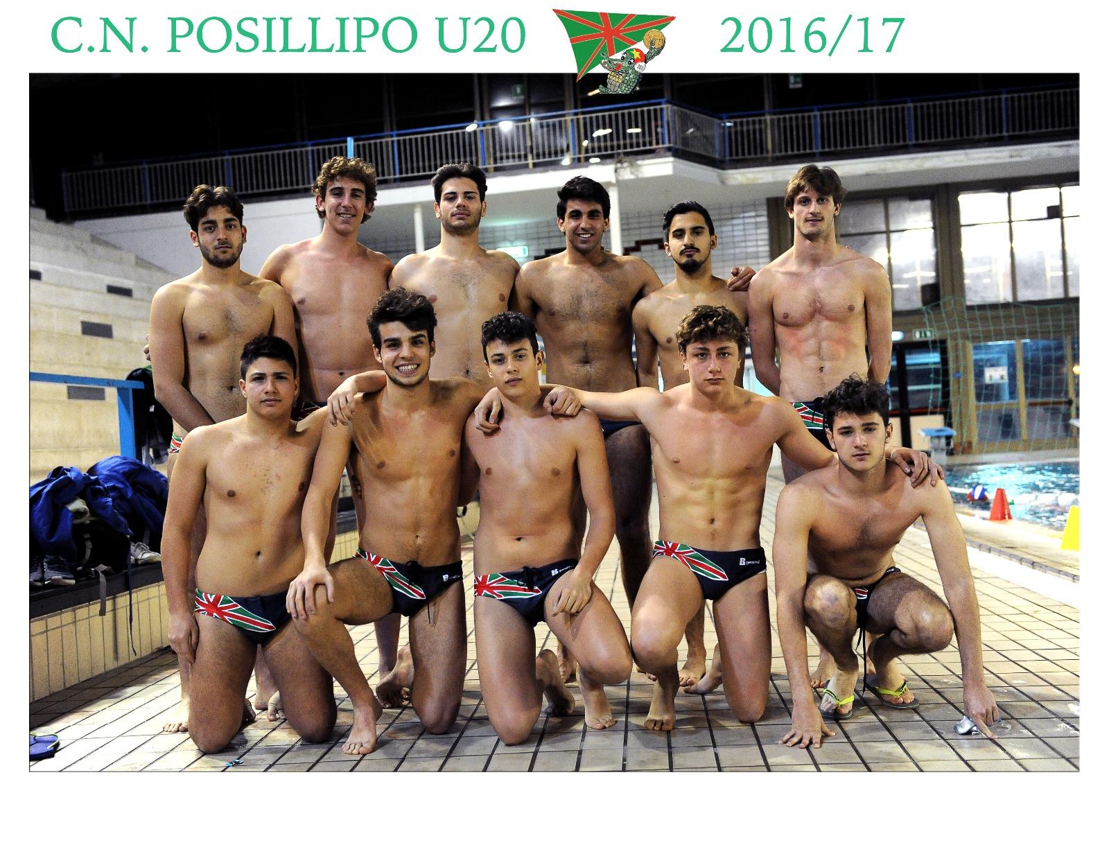Squadra Under20 CN Posillipo Pallanuoto