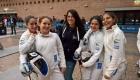 Squadra Under 14 spada femminile