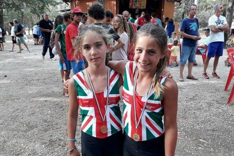 Due giovanissime atlete