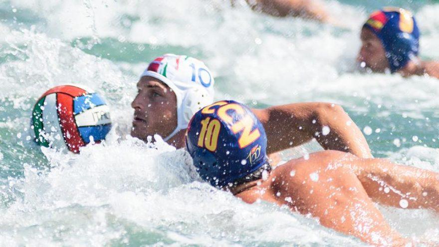 Luca Marziali in azione