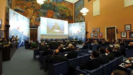 Salone d'onore del CONI a Roma