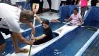 La scuola Fiorelli con Canoa e Scherma al Posillipo
