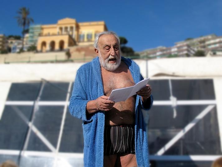 Maurizio Tortora legge la poesia del Cimento
