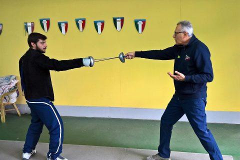 Emidio Rinaldi con Aldo Cuomo