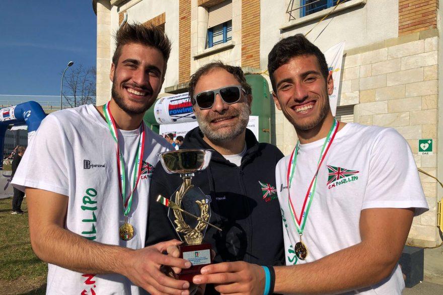 Nunzio Di Colandrea e Salvatore Monfrecola con il Dirigente Francesco Rizzo