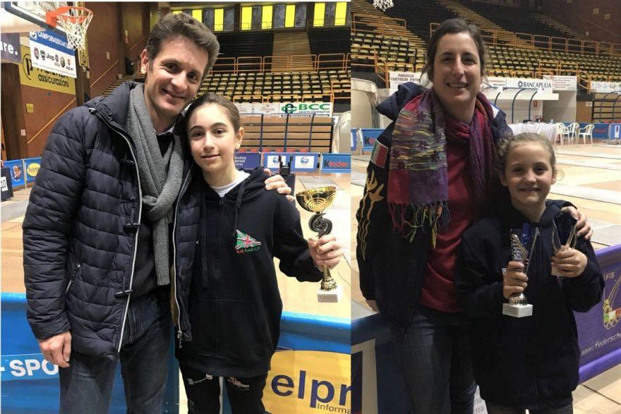 Raffaello Caserta, Chiara Resciniti, Irene di Transo e Carlotta Parisi a SanSevero 2018
