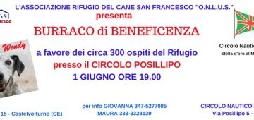Locandina Burraco Rifugio San Francesco