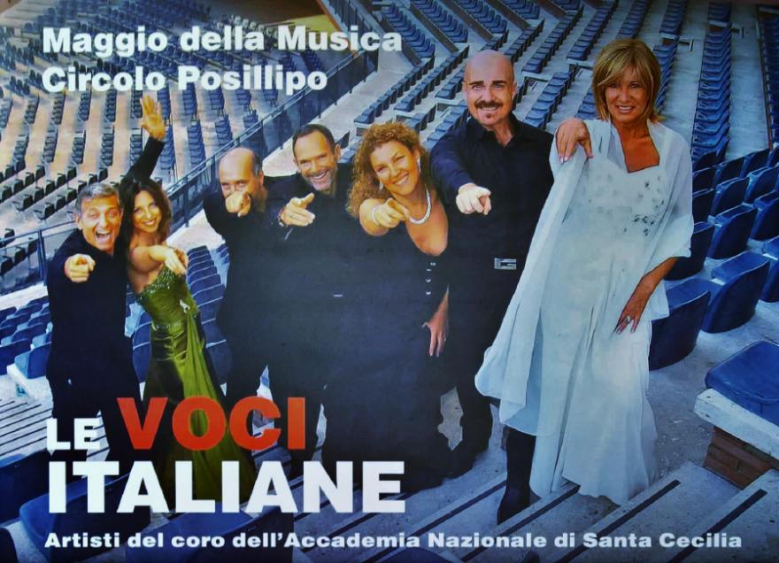Le Voci Italiane - Viaggio a Napoli