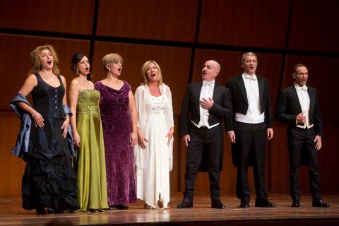 """Roma, Auditorium Parco della Musica 10 10 2014Concerto per Alba """"Un viaggio a Napoli""""Ensemble Voci Italiane©Riccardo Musacchio"""