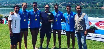 Posillipo Campione d'Italia 4 senza Under23
