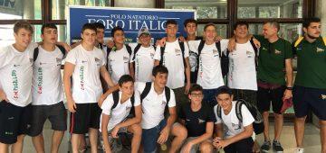 La squadra Under 15 qualificata alle nazionali