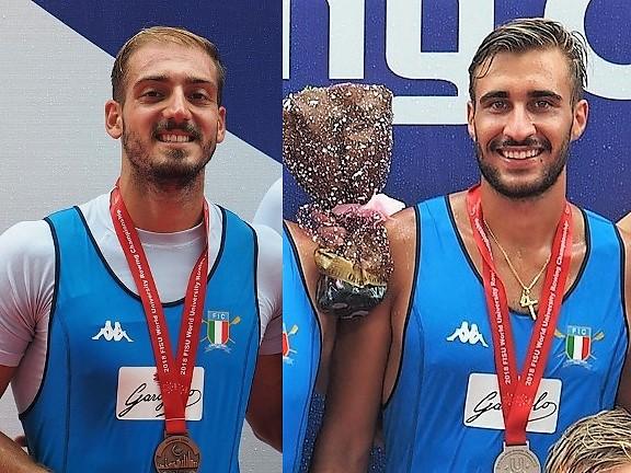 Andrea Maestrale e Nunzio di Colandrea ai mondiali universitari 2018