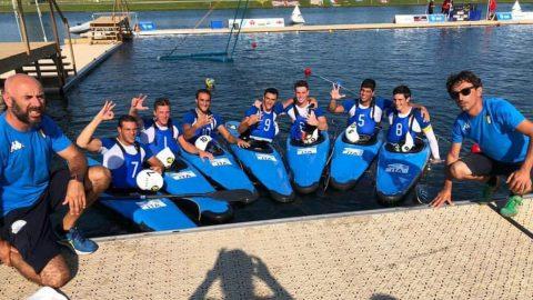 Squadra canoa bronzo mondiali U21