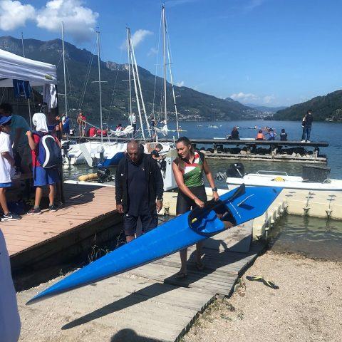 Finali Canoa al Lago di Caldonazzo