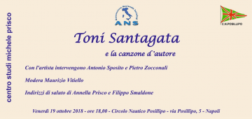 Evento Tony Santagata