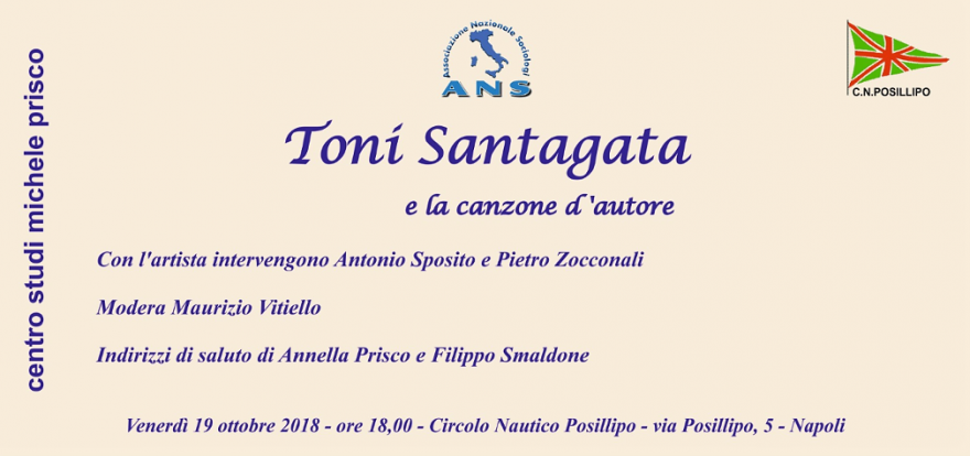 Evento Tony Santagata